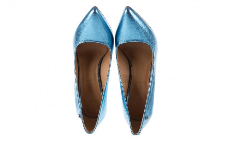 Bayla-156 2730 niebieski metallic, skóra naturalna  - bayla - nasze marki 4