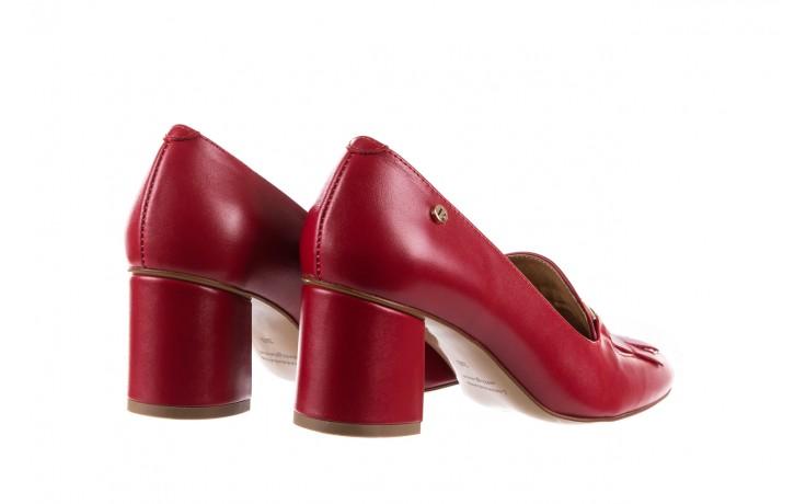 Czółenka bayla-156 3300 czerwone 18, skóra naturalna  - bayla - nasze marki 4
