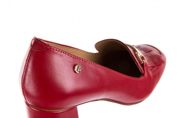 Czółenka bayla-156 3300 czerwone 18, skóra naturalna  - bayla - nasze marki 7