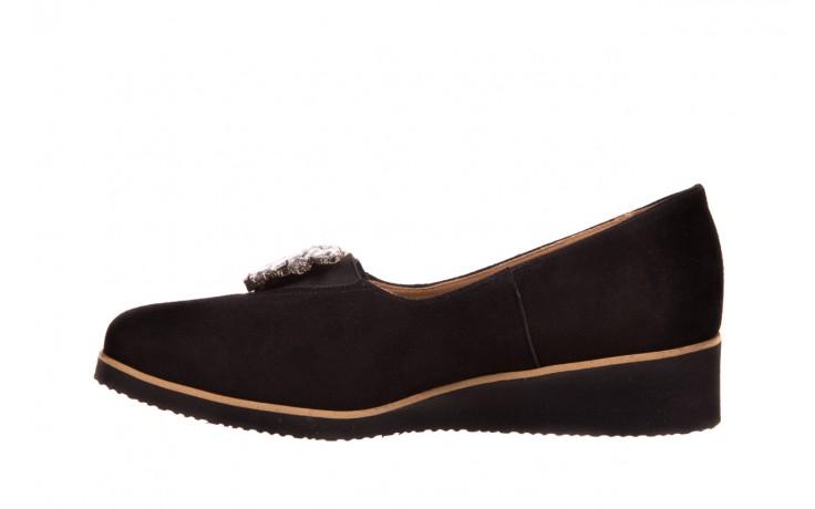 Półbuty bayla-157 b004-003-b czarny, skóra naturalna  - promocje - kobieta 3