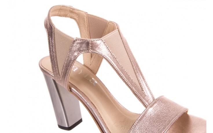 Sandały bayla-157 b005-091-b złoty-róż, skóra naturalna 4