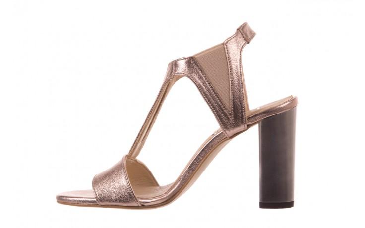 Sandały bayla-157 b005-091-b złoty-róż, skóra naturalna 2