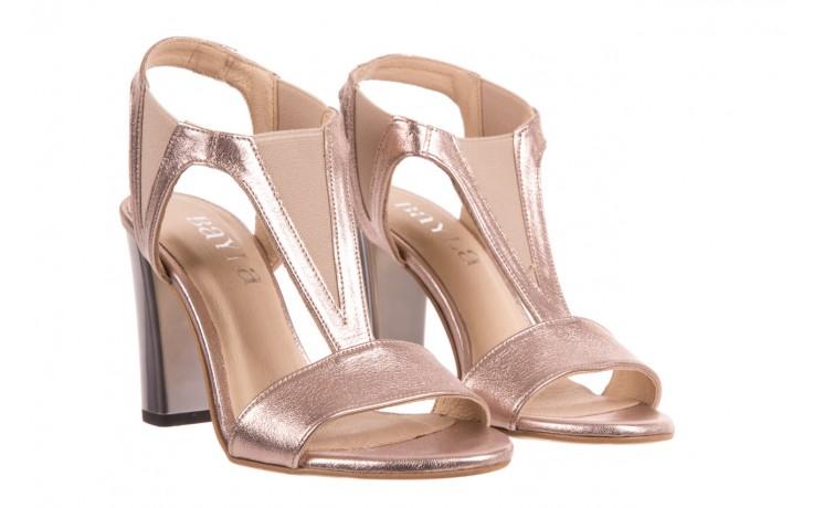 Sandały bayla-157 b005-091-b złoty-róż, skóra naturalna 1