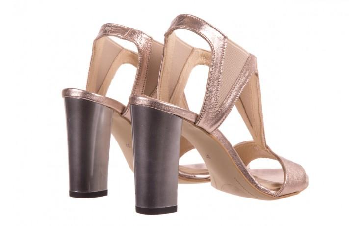 Sandały bayla-157 b005-091-b złoty-róż, skóra naturalna 3