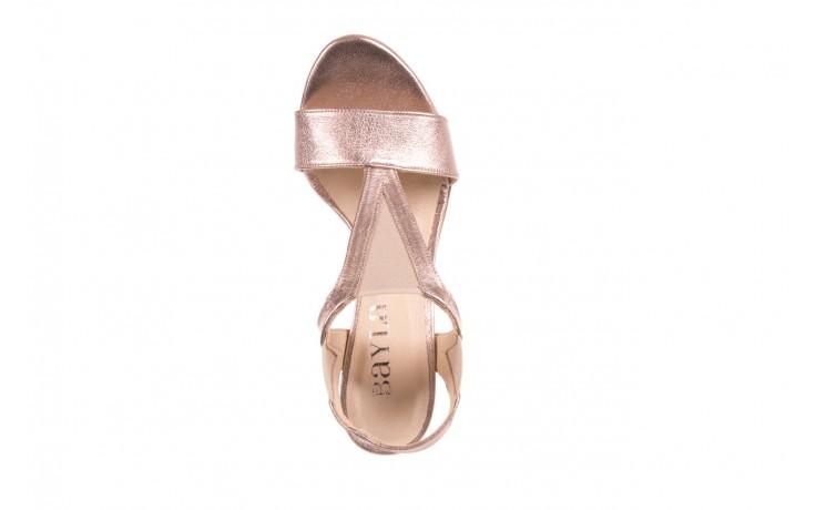 Sandały bayla-157 b005-091-b złoty-róż, skóra naturalna 6