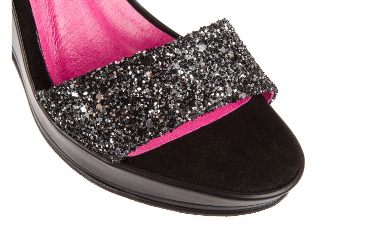 Sandały bayla-157 b007-003-b czarny, skóra naturalna 5