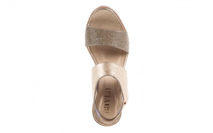 Sandały bayla-157 b007-074-b złoty 157013, skóra naturalna  - bayla - nasze marki 4