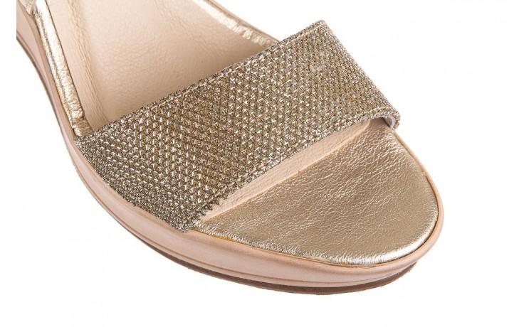 Sandały bayla-157 b007-074-b złoty 157013, skóra naturalna  - bayla - nasze marki 5