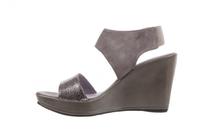 Sandały bayla-157 b007-127-b szary, skóra naturalna  - bayla - nasze marki 2