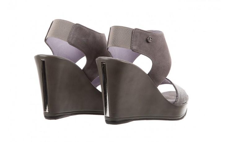 Sandały bayla-157 b007-127-b szary, skóra naturalna  - bayla - nasze marki 3