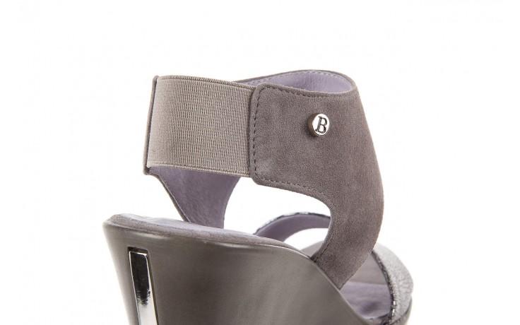 Sandały bayla-157 b007-127-b szary, skóra naturalna  - bayla - nasze marki 6