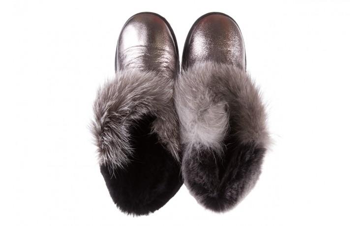 Śniegowce bayla-161 7060 srebrne śniegowce, skóra naturalna  - śniegowce i kalosze - dla niej  - sale 4