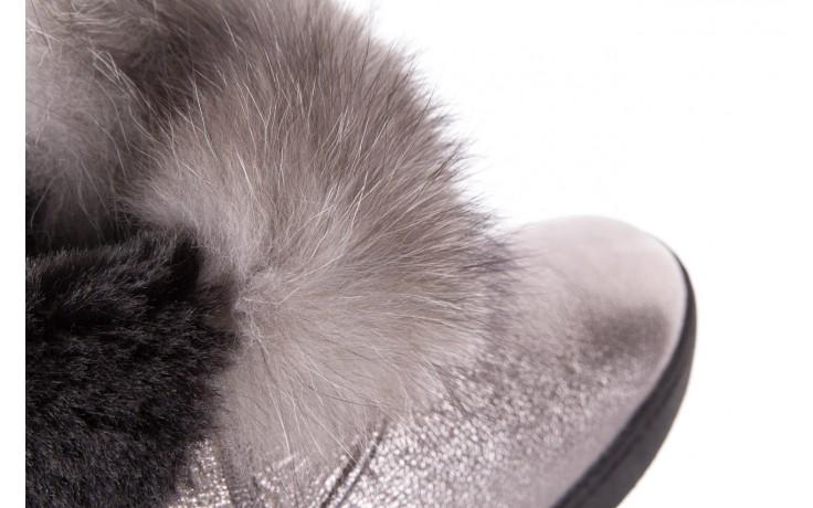 Śniegowce bayla-161 7060 srebrne śniegowce, skóra naturalna  - śniegowce i kalosze - dla niej  - sale 6