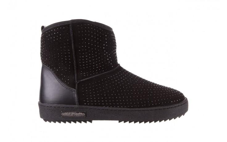 Śniegowce bayla-161 7063 czarne, skóra naturalna zamszowa - skórzane - botki - buty damskie - kobieta