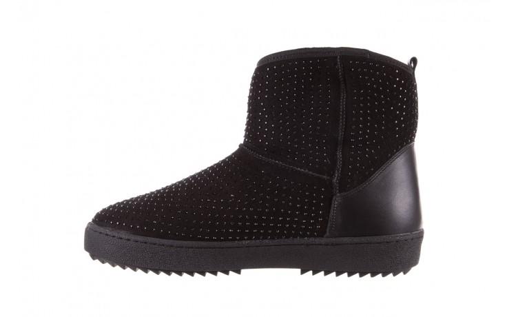Śniegowce bayla-161 7063 czarne, skóra naturalna zamszowa - skórzane - botki - buty damskie - kobieta 2