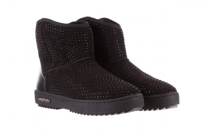 Śniegowce bayla-161 7063 czarne, skóra naturalna zamszowa - skórzane - botki - buty damskie - kobieta 1
