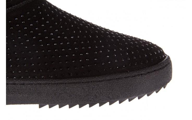 Śniegowce bayla-161 7063 czarne, skóra naturalna zamszowa - skórzane - botki - buty damskie - kobieta 7