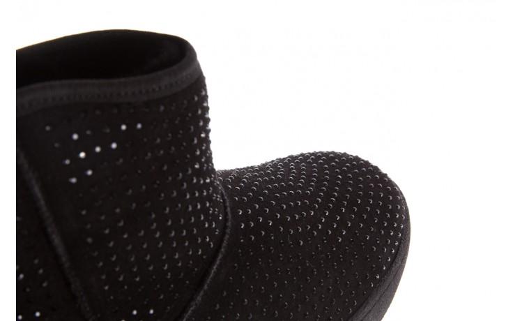 Śniegowce bayla-161 7063 czarne, skóra naturalna zamszowa - skórzane - botki - buty damskie - kobieta 6