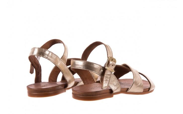 Sandały bayla-163 17-116 gold, złoty, skóra naturalna  - bayla - nasze marki 3
