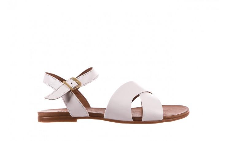 Sandały bayla-163 17-116 riga, biały , skóra naturalna  - bayla - nasze marki