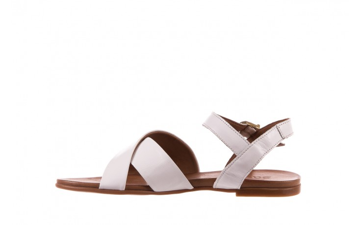 Sandały bayla-163 17-116 riga, biały , skóra naturalna  - bayla - nasze marki 2