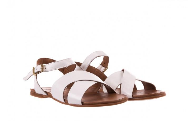 Sandały bayla-163 17-116 riga, biały , skóra naturalna  - bayla - nasze marki 1