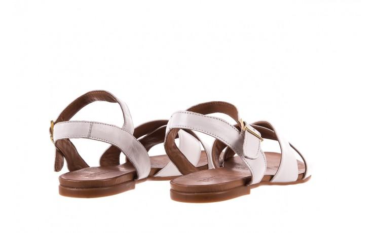 Sandały bayla-163 17-116 riga, biały , skóra naturalna  - bayla - nasze marki 3