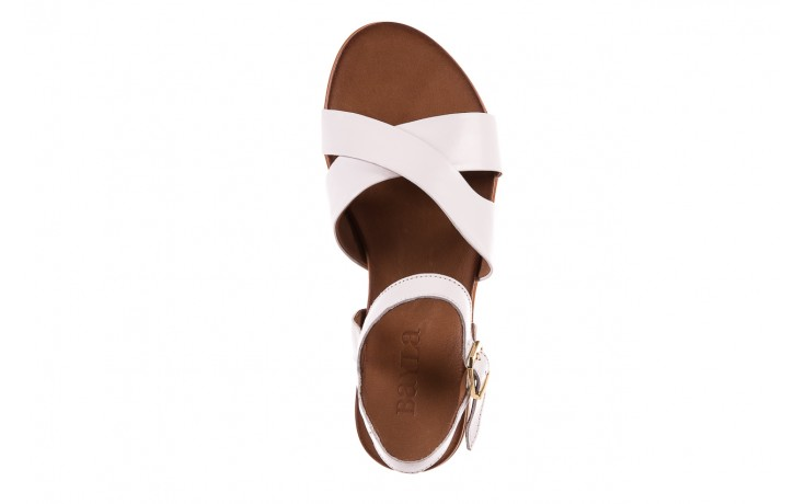 Sandały bayla-163 17-116 riga, biały , skóra naturalna  - bayla - nasze marki 4