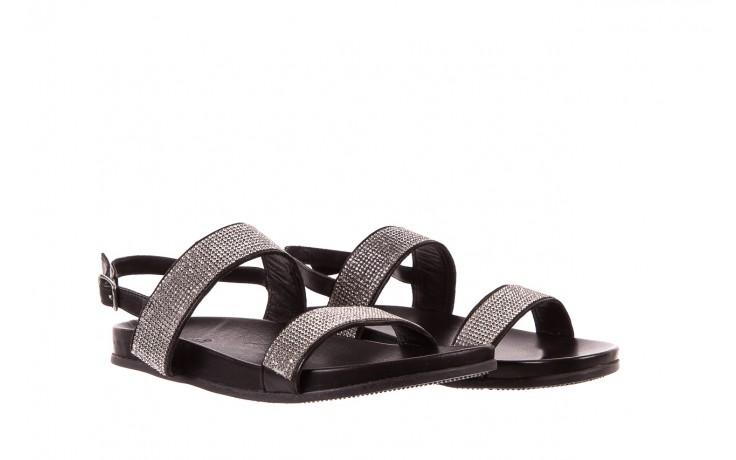 Sandały bayla-163 17-302 black, czarny, skóra naturalna  - bayla - nasze marki 1