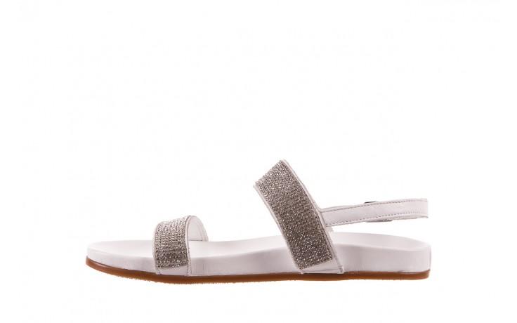 Sandały bayla-163 17-302 riga, biały, skóra naturalna  - sandały - letnie hity cenowe 2