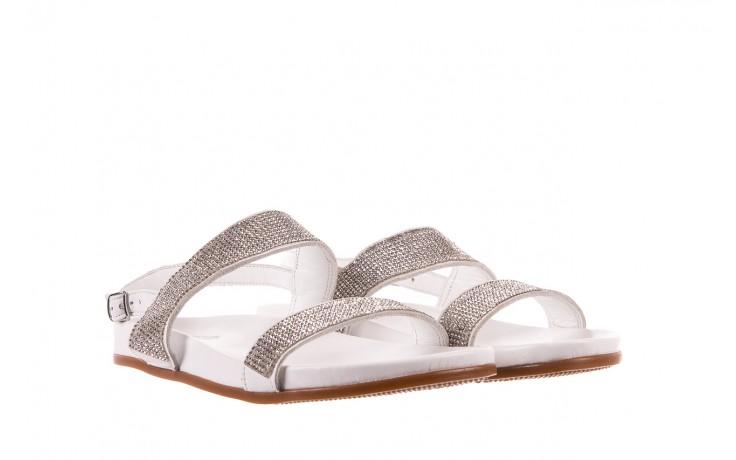 Sandały bayla-163 17-302 riga, biały, skóra naturalna  - sandały - letnie hity cenowe 1