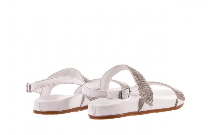Sandały bayla-163 17-302 riga, biały, skóra naturalna  - sandały - letnie hity cenowe 3