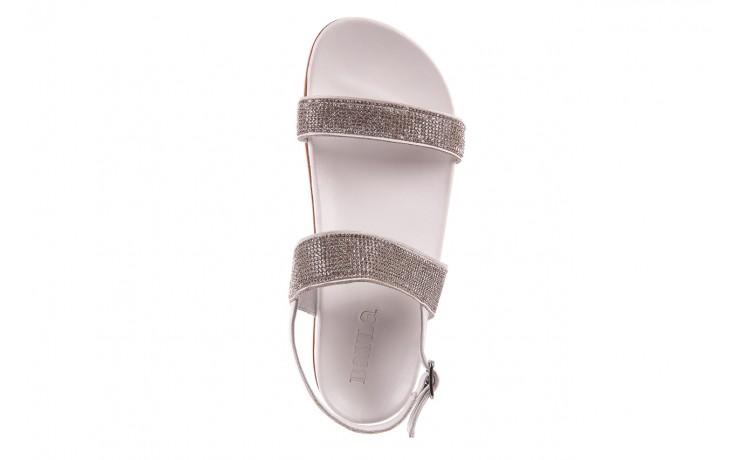 Sandały bayla-163 17-302 riga, biały, skóra naturalna  - sandały - letnie hity cenowe 4