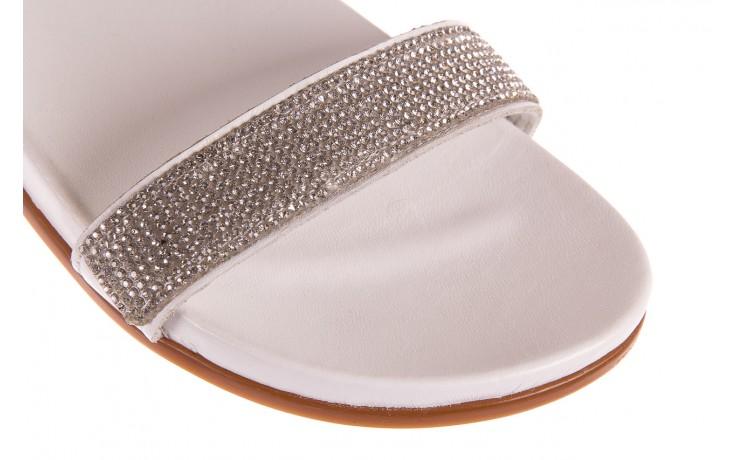 Sandały bayla-163 17-302 riga, biały, skóra naturalna  - sandały - letnie hity cenowe 5