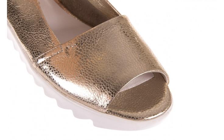 Sandały bayla-163 319-310 386 gold, złoty, skóra naturalna 5