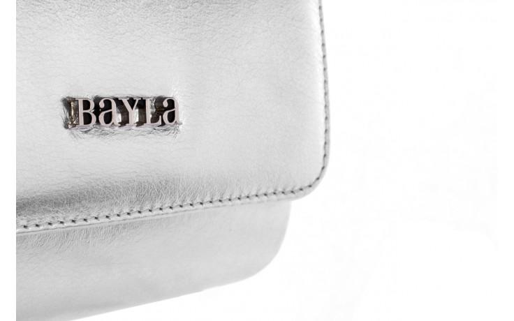 Bayla-165 torebka camilla srebrna - bayla - nasze marki 3