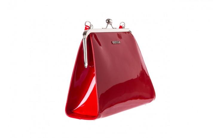 Torebka bayla-165 torebka gaja czerwona, skóra naturalna  - bayla - nasze marki 1