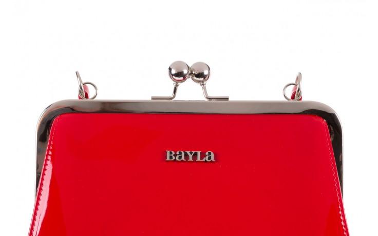 Torebka bayla-165 torebka gaja czerwona, skóra naturalna  - bayla - nasze marki 5