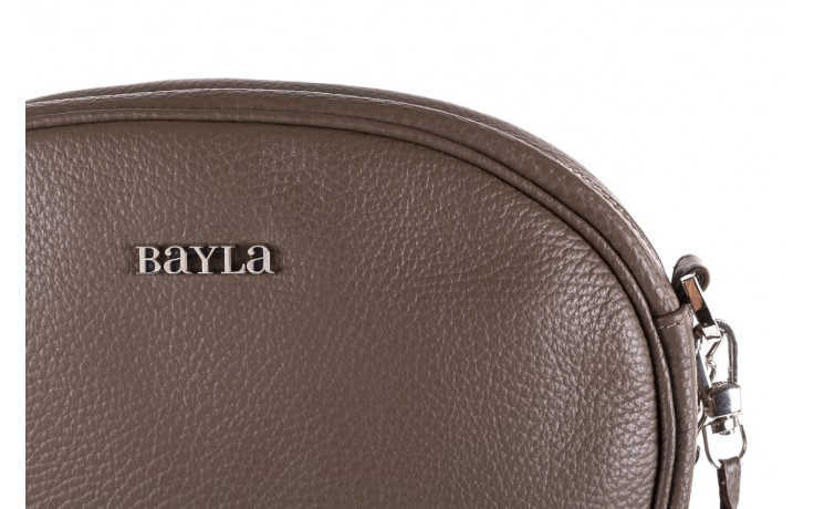Torebka bayla-165 torebka skórzana vicky khaki, skóra naturalna  - bayla - nasze marki 3