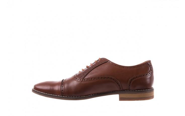 Półbuty bayla-166 m523bb brąz 166001, skóra naturalna - obuwie wizytowe - buty męskie - mężczyzna 2