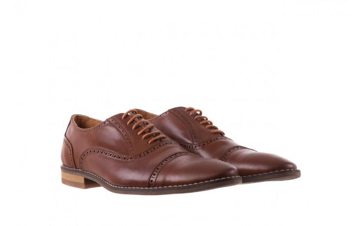 Półbuty bayla-166 m523bb brąz 166001, skóra naturalna - obuwie wizytowe - buty męskie - mężczyzna 1