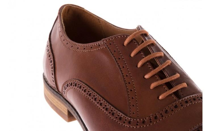 Półbuty bayla-166 m523bb brąz 166001, skóra naturalna - obuwie wizytowe - buty męskie - mężczyzna 6
