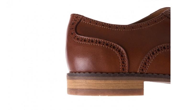 Półbuty bayla-166 m523bb brąz 166001, skóra naturalna - obuwie wizytowe - buty męskie - mężczyzna 7
