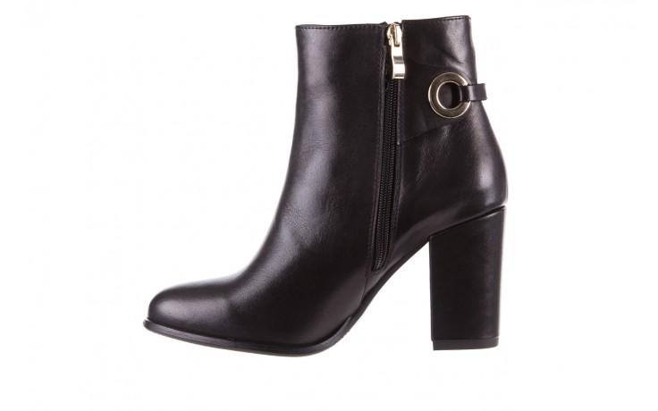 Botki bayla-170 2136 czarne botki, skóra naturalna  - skórzane - botki - buty damskie - kobieta 2