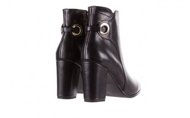 Botki bayla-170 2136 czarne botki, skóra naturalna  - skórzane - botki - buty damskie - kobieta 3