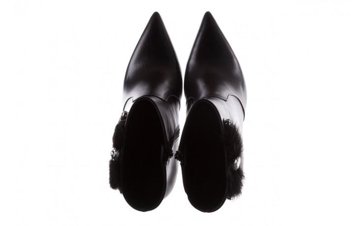 Botki bayla-177 b19715 czarne botki, skóra naturalna  - bayla - nasze marki 4