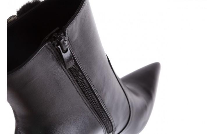Botki bayla-177 b19715 czarne botki, skóra naturalna  - bayla - nasze marki 7