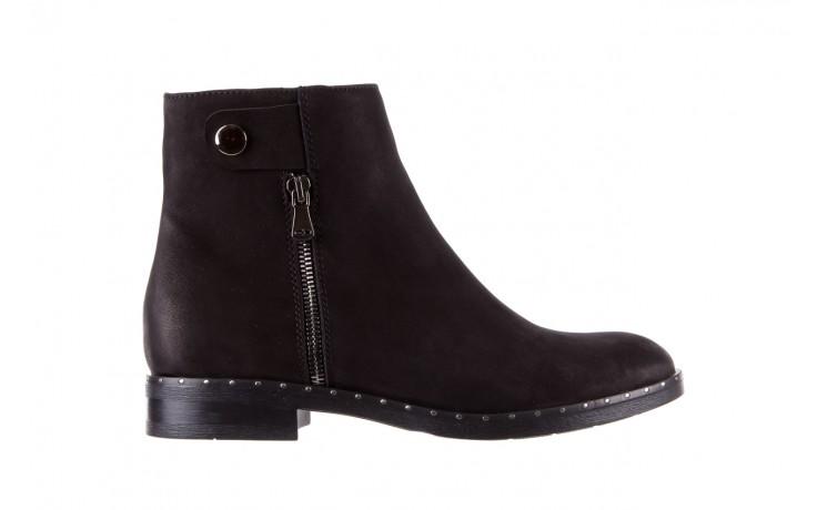 Sztyblety bayla-170 2170 czarne botki, skóra naturalna  - sztyblety - botki - buty damskie - kobieta