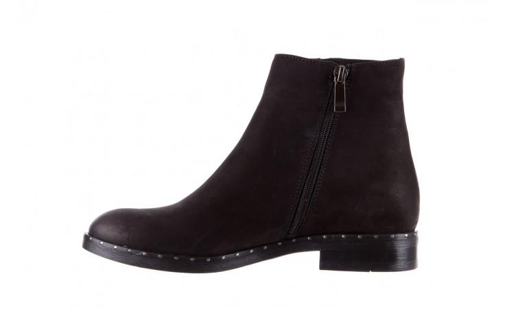 Sztyblety bayla-170 2170 czarne botki, skóra naturalna  - sztyblety - botki - buty damskie - kobieta 2