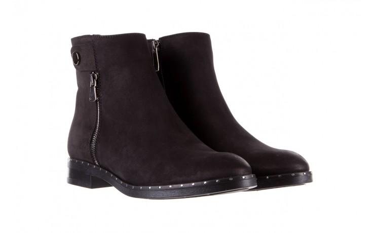 Sztyblety bayla-170 2170 czarne botki, skóra naturalna  - sztyblety - botki - buty damskie - kobieta 1